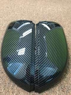 Side Mirror Cover for Golf MK6 GTI Carbon Fiber Look