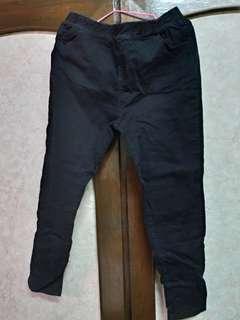 🚚 ★黑色長褲(鬆緊帶)(衣褲2件就免運)