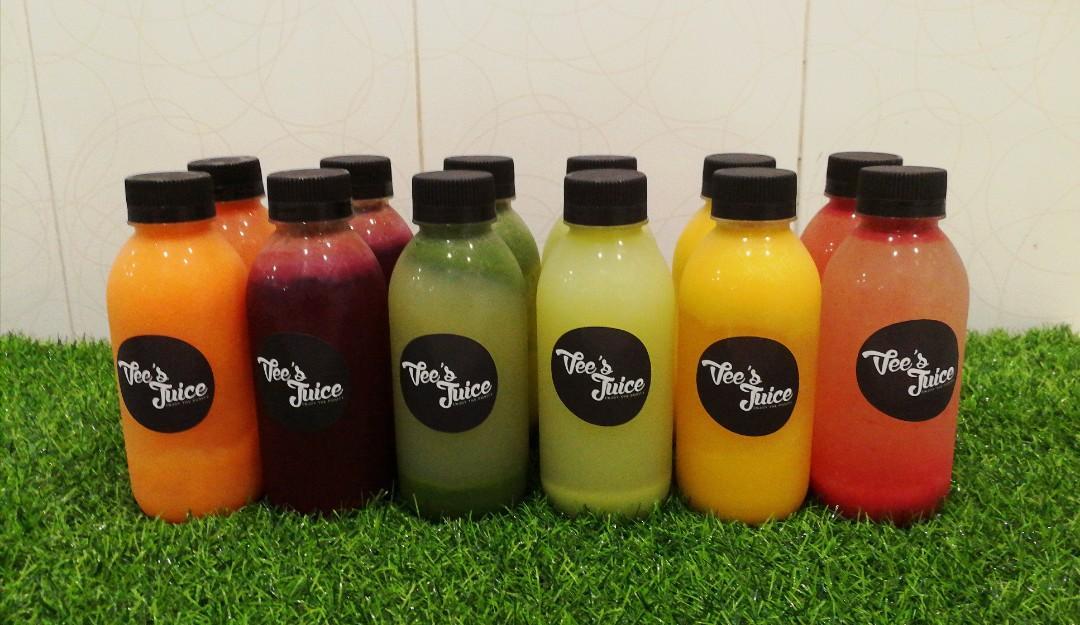 1-DAY Juice Detox Program (5x 500ml) FRESHLY Prepared Plus