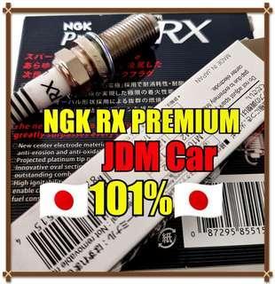 🚚 NGK RX PREMIUM Spark Plug ( JDM Car )