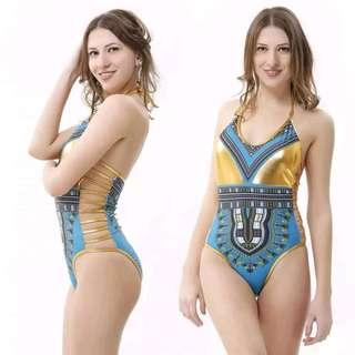 One Piece Swimsuit SS358 S,M