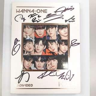 [Price Down] #WannaOne Signed #Album | Whole Member Signed #RM150