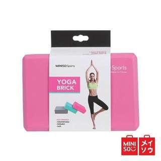 Miniso yoga brick