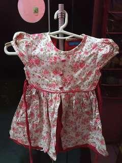 Dress anak usia 3-4 tahun