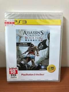 刺客教條4 黑旗 PS3二手遊戲片