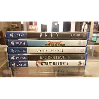 USED GAME READY STOCK