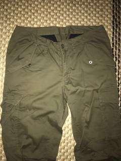 Takeo kikuchi japan pant 30 size 2 topman zara army military