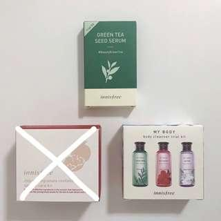 🚚 INNISFREE SAMPLE KITS