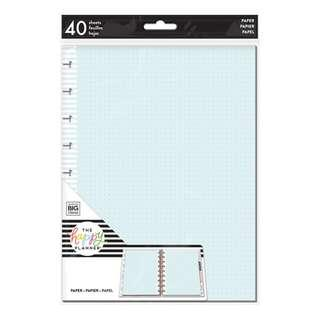 Medium Happy Planner Colored Note Paper - Dot Grid