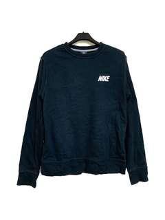 🚚 古著Nike經典logo黑色大學T