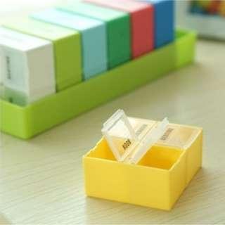 Pill box (big volume) pillbox