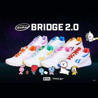 b94d3ffab0c BTS BT21 OfficiaI Authentic Goods ROYAL BRIDGE 2.0 Shoes by Reebok ...