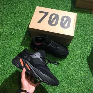YEEZY BOOST 700 BLACK RED