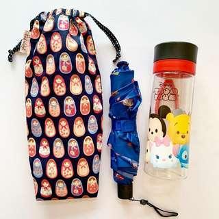 🚚 Umbrella/Bottle Wet bag , Water leak proof , washable , reusable , stylish and Eco-friendly !