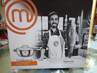 (全新)Master Chef28厘米雙耳鍋連蓋