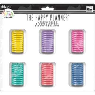 Medium Happy Planner Disc Value Pack - Multi Color