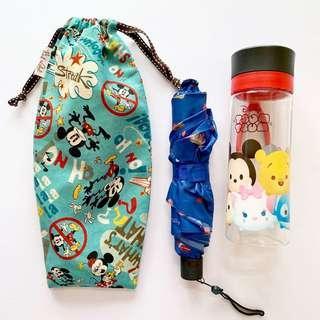🚚 Umbrella/Bottle Wet bag , Water leak proof , washable , reusable , stylish and Eco-friendly ! Disney