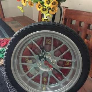 Tire Wall Clock