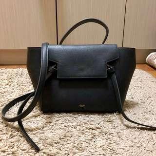 Celine Belt handbag (Black)