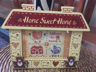 HOME SWEET HOME Wood Frame