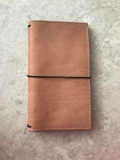 Journals by Joey Reg size traveler notebook with pockets custom made