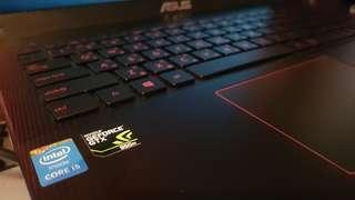 Gaming Laptop ASUS X550J