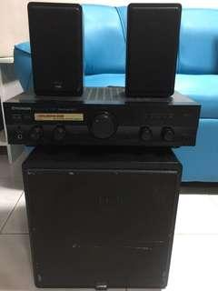 Pioneer Home Theatre /Amplifier System
