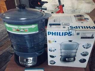 Philips 3-tier Food Steamer Model HD9140
