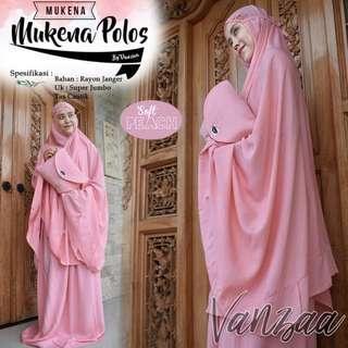 Mukena Polos Soft peach
