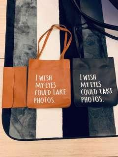 Writing letter Tote Bag