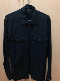 🚚 深藍襯衫