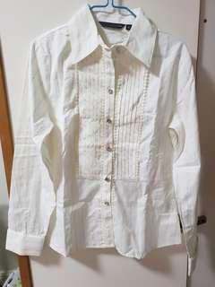 🚚 White Office Formal Shirt