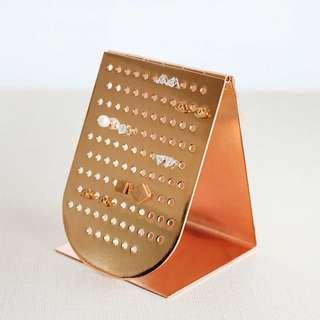 🚚 Golden Colour Jewelry Stand