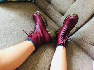 Dr. Martens Pascal (cherry red)