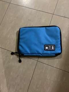 Earphone, USB Cable Mini-Travel Organizer Bag