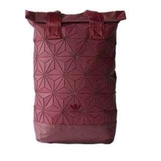 [VDayPresent] Adidas bag Issey Miyake Roll up  Red  Quick Deal!