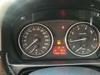 323 LCi 2.5 enjin hitam
