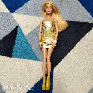 Barbie Fashionistas Gold