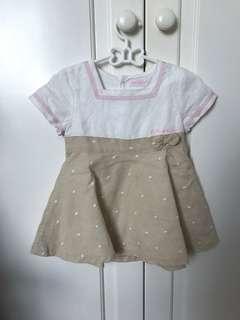 Gorgeous Baby Girl Dress TUTTO PICCOLO