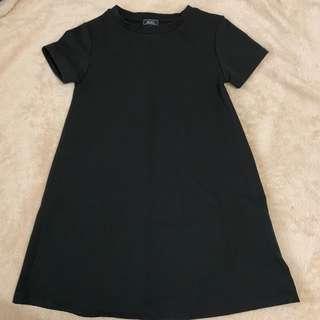 Textured dress not zara topshop