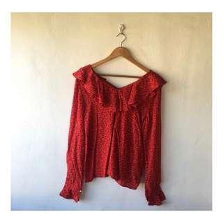 Pre-loved Red Top!