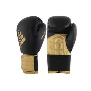 🚚 Adidas Hybrid 100 Black & Gold Boxing Gloves
