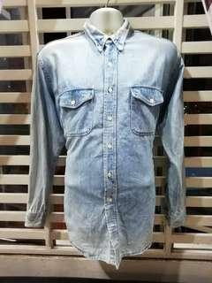 Vintage Big Mac Jc Penney chambray #MHB75