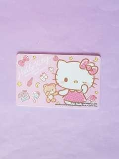 🚚 Limited edition Hello Kitty Ezlink Card