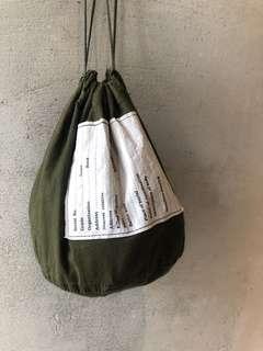 🚚 🇺🇸90s美軍公發US Army 軍用收納袋 復古束口袋 庫存新品 Vintage 古董老品
