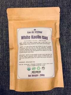 Pure Organic white Kaolin Clay 200g