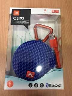 (ORIGINAL) JBL Clip 2 Waterproof Bluetooth Speaker with 1 Year Warranty
