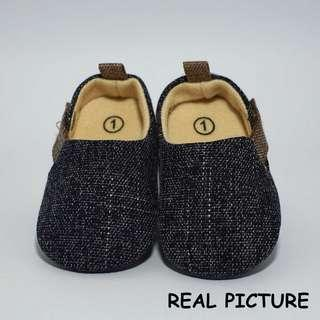 Sepatu Bayi laki-laki Prewalker katun