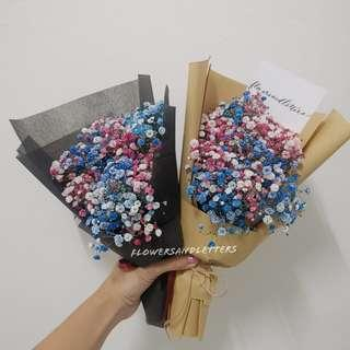 Baby Breath Bouquet fresh flower bouquet valentine's day flower