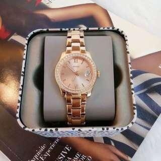 [Valentines Day Special] Fossil ES4318 Scarlette Crystal Rose Dial Ladies Watch